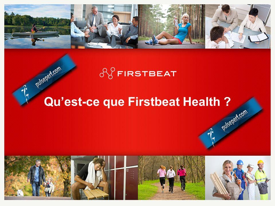 Qu'est-ce que Firstbeat Health
