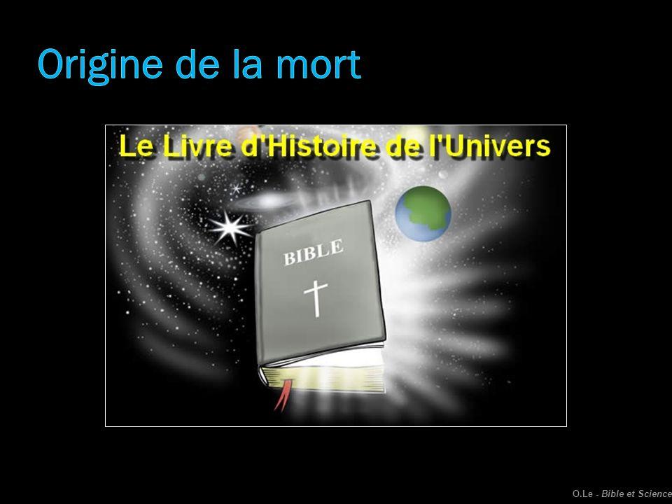 Origine de la mort O.Le - Bible et Science