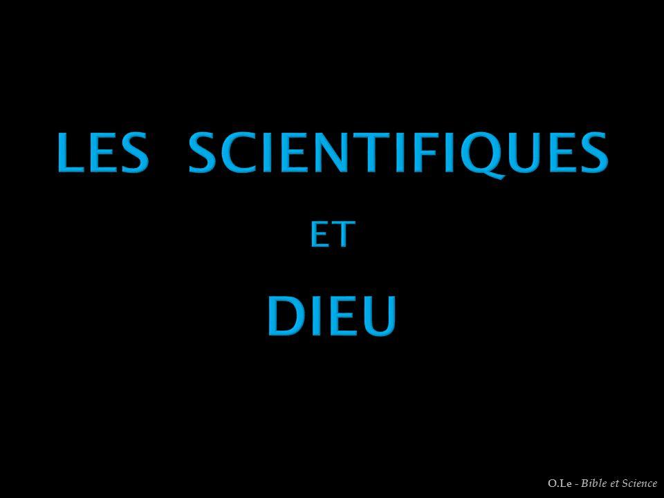 Les Scientifiques eT dieu