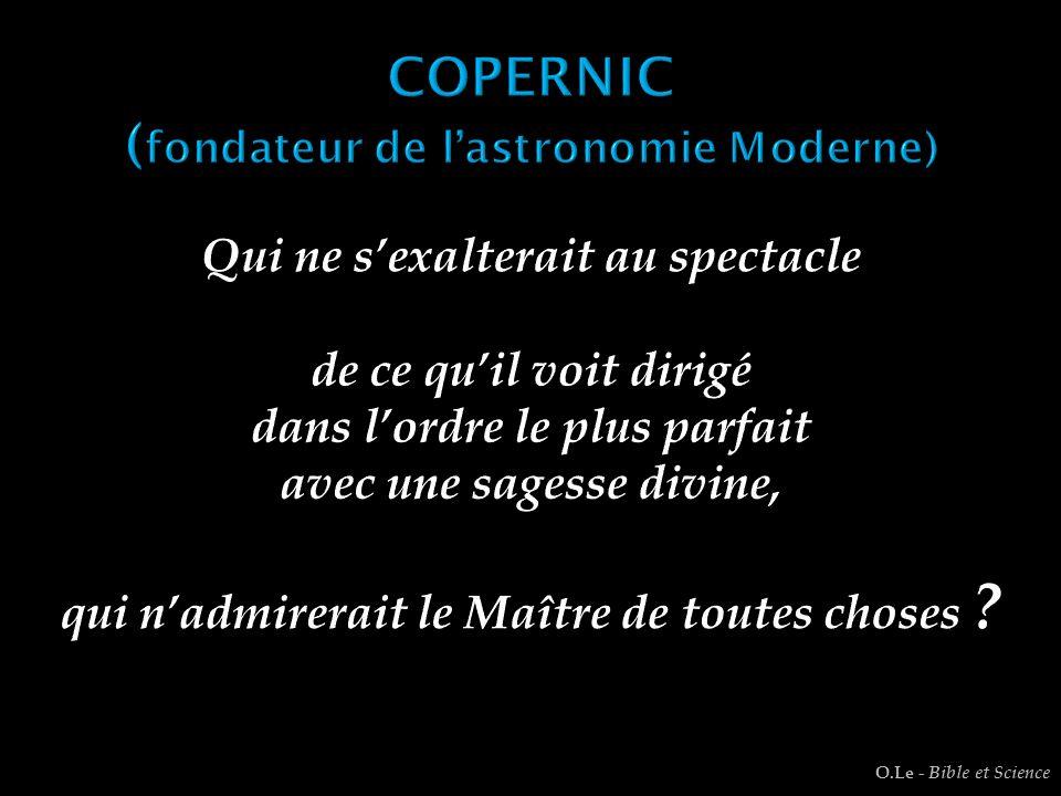COPERNIC (fondateur de l'astronomie Moderne)