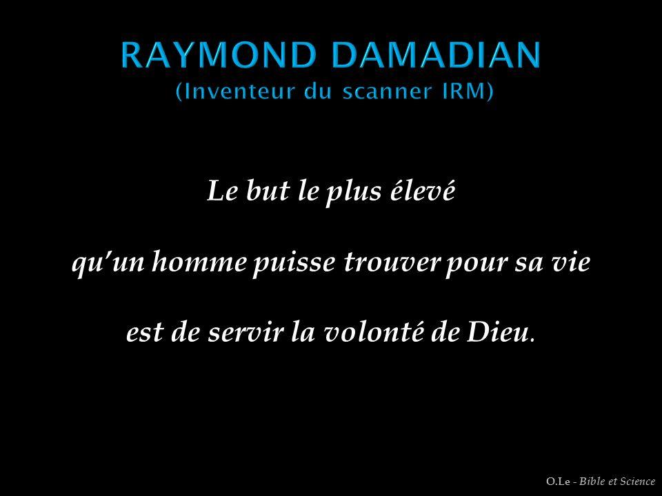 RAYMOND DAMADIAN (Inventeur du scanner IRM)