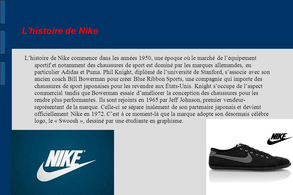 L histoire de Nike