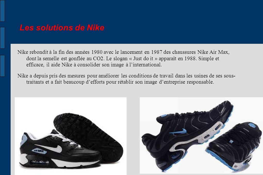 Les solutions de Nike