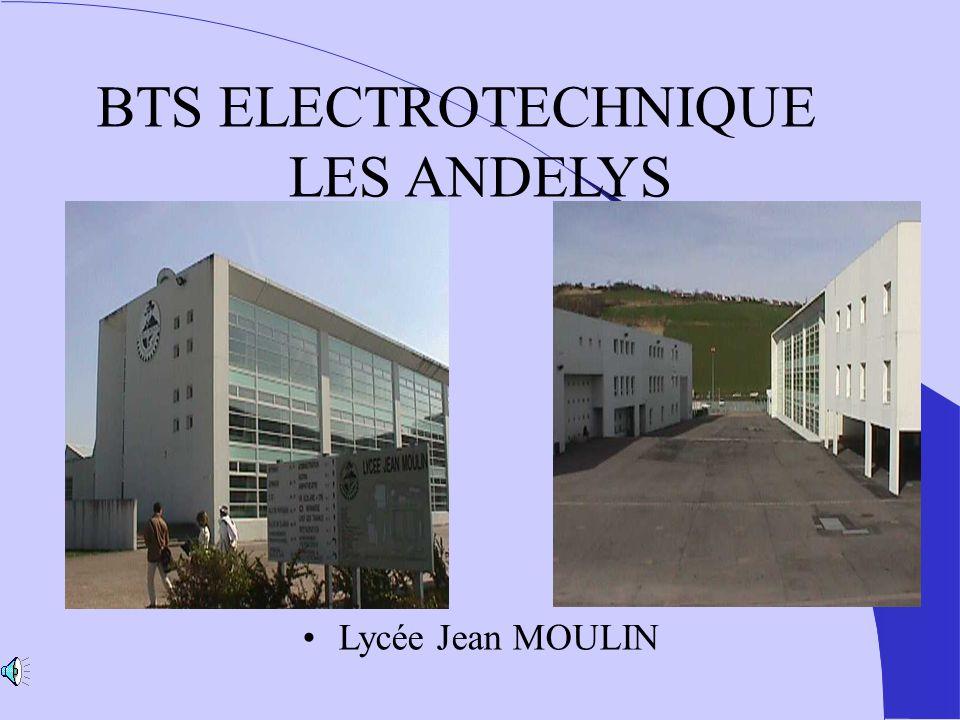 BTS ELECTROTECHNIQUE LES ANDELYS