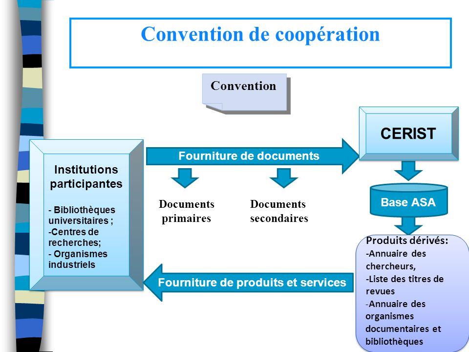 Convention de coopération