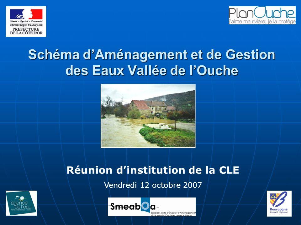 Schéma d'Aménagement et de Gestion des Eaux Vallée de l'Ouche