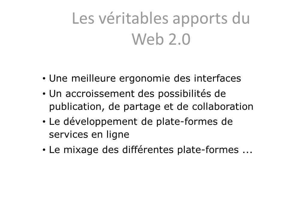 Les véritables apports du Web 2.0