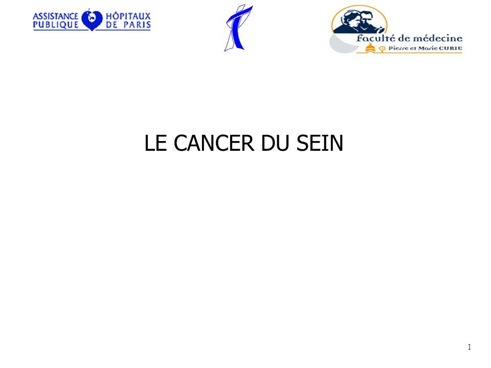 LE CANCER DU SEIN 1 CJB - Cours Externes - 12/03/07