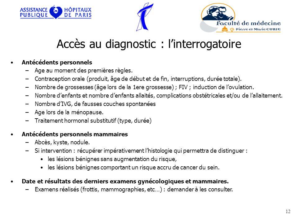Le cancer du sein 1 cjb cours externes 12 03 ppt - Duree du retour de couche sans allaitement ...