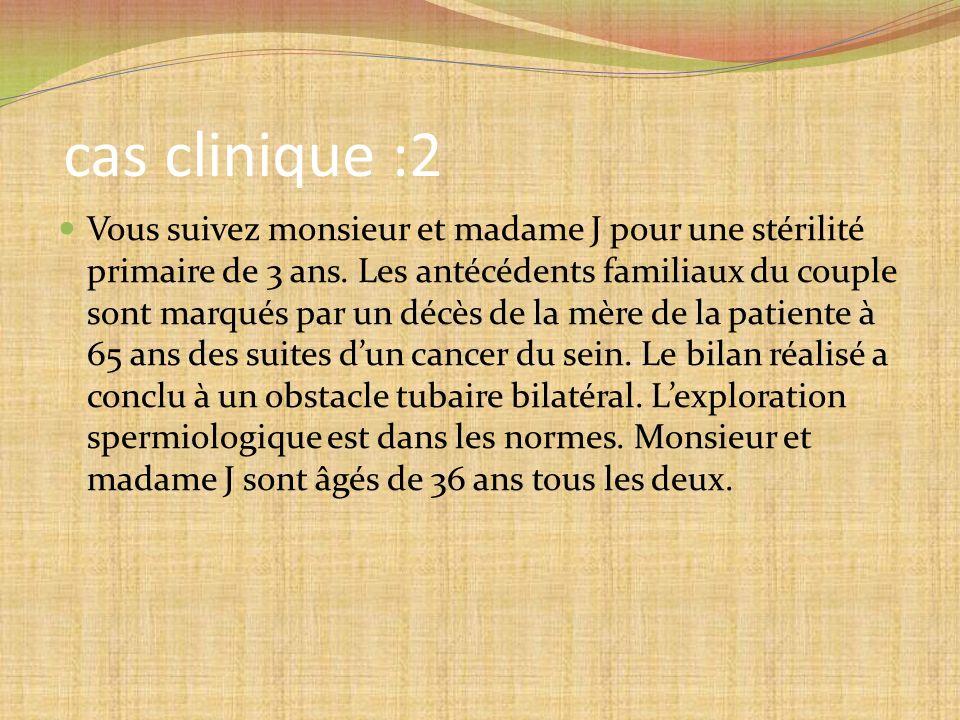 cas clinique :2