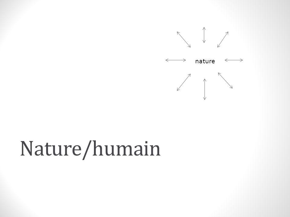 nature Nature/humain