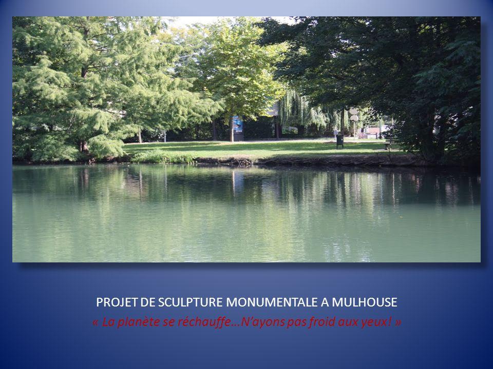 PROJET DE SCULPTURE MONUMENTALE A MULHOUSE
