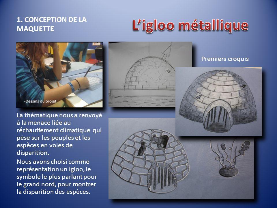 1. CONCEPTION DE LA MAQUETTE