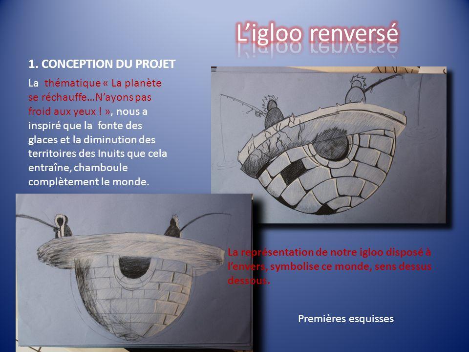 L'igloo renversé 1. CONCEPTION DU PROJET