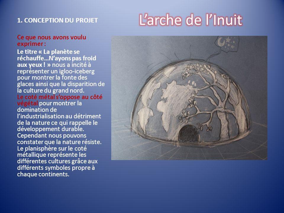 L'arche de l'Inuit 1. CONCEPTION DU PROJET