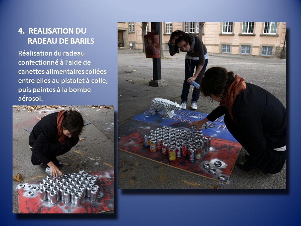 4. REALISATION DU RADEAU DE BARILS
