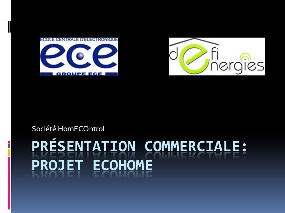Présentation commerciale: projet EcoHome