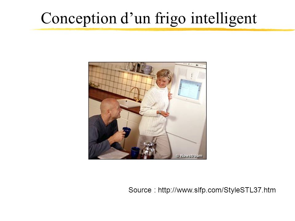 Conception d'un frigo intelligent