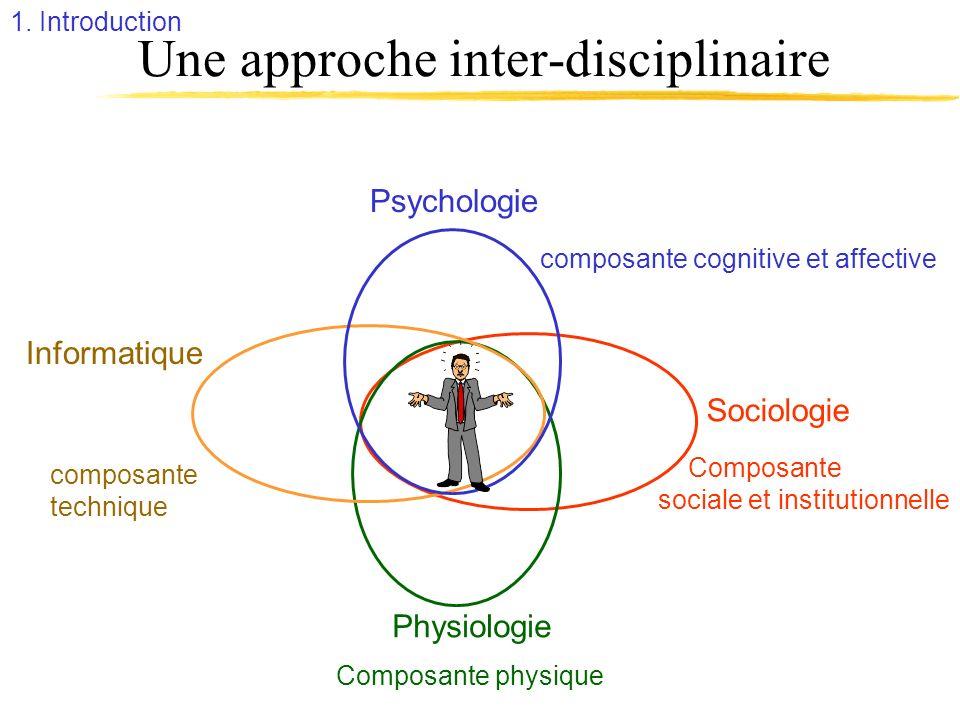 Une approche inter-disciplinaire