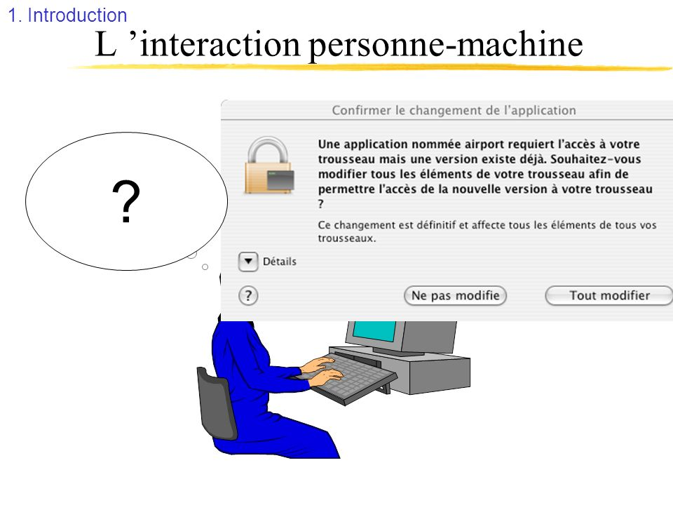 L 'interaction personne-machine