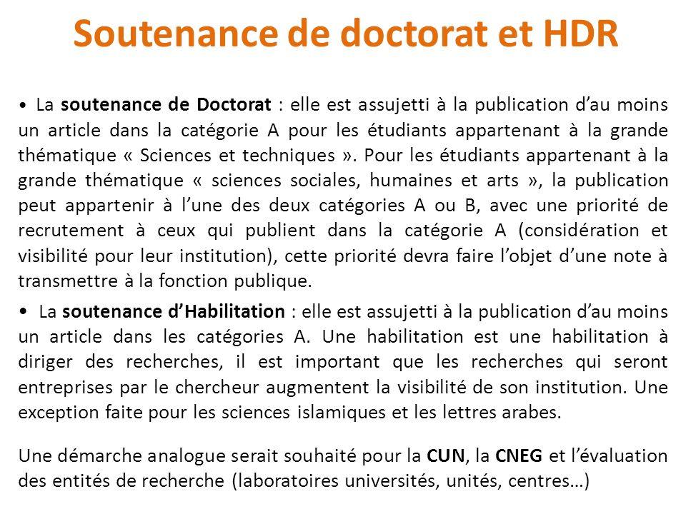Soutenance de doctorat et HDR