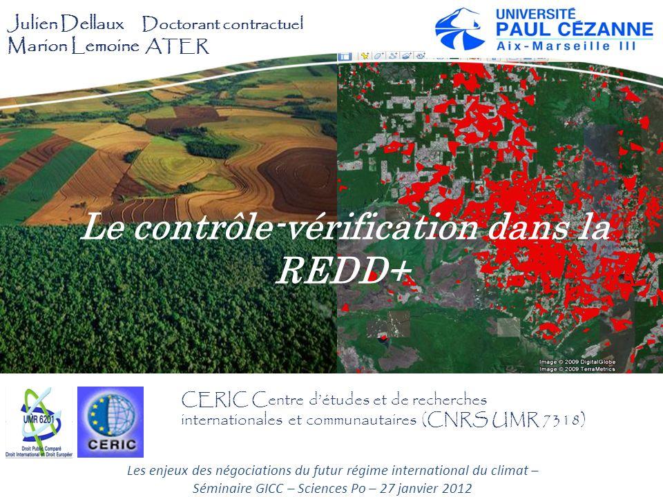 Le contrôle-vérification dans la REDD+