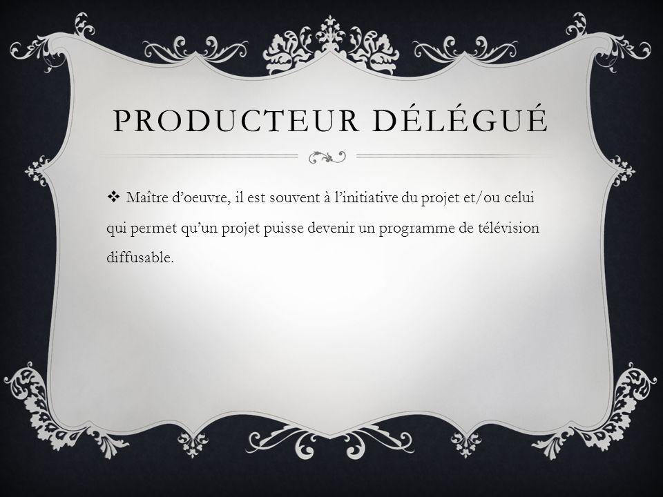 Producteur délégué