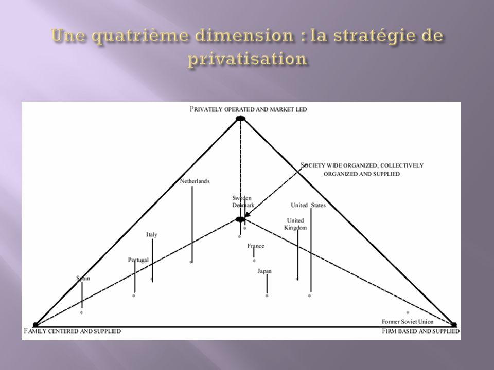 Une quatrième dimension : la stratégie de privatisation