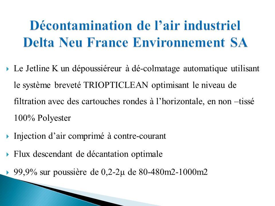 Décontamination de l'air industriel Delta Neu France Environnement SA
