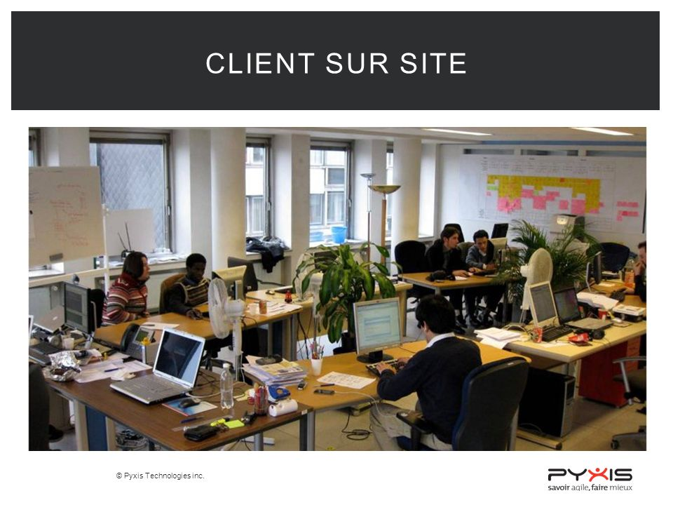 Client sur site