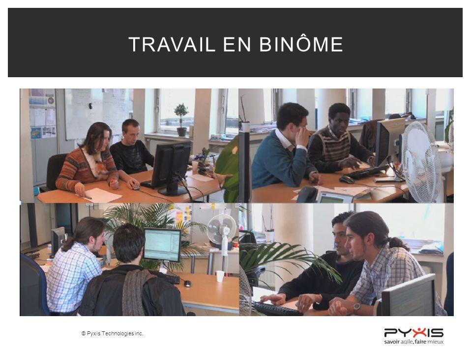 Travail en Binôme