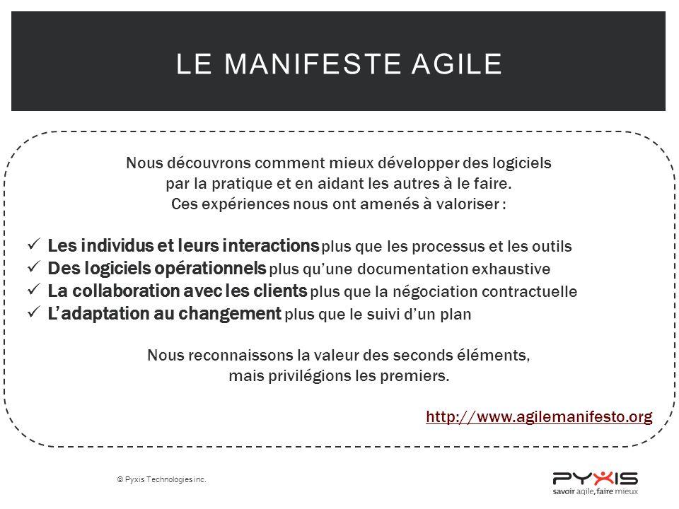 Le manifeste Agile