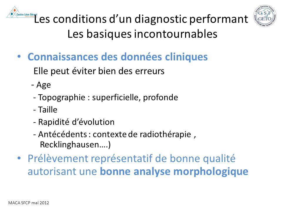 Les conditions d'un diagnostic performant Les basiques incontournables