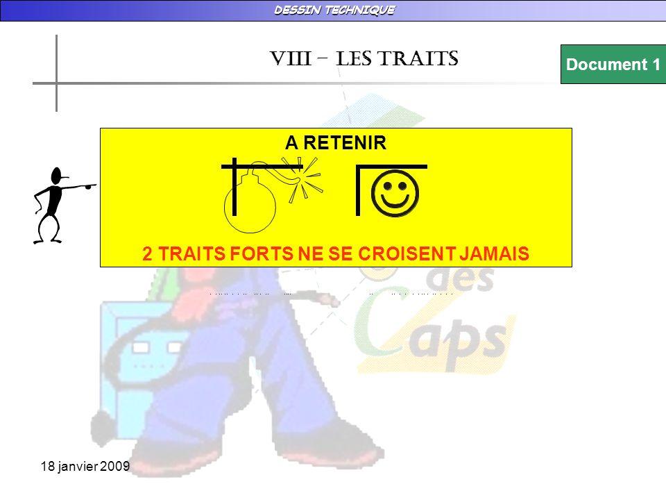 2 TRAITS FORTS NE SE CROISENT JAMAIS