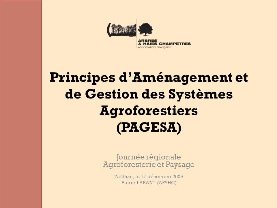 Journée régionale Agroforesterie et Paysage