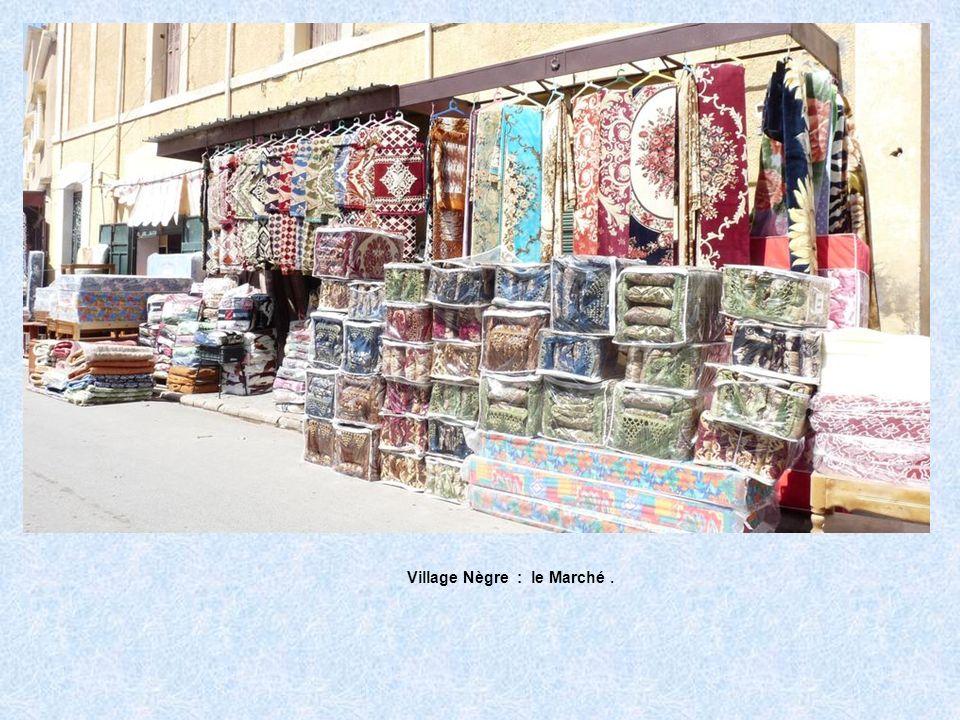Village Nègre : le Marché .