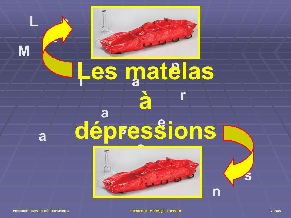 Les matelas à dépressions
