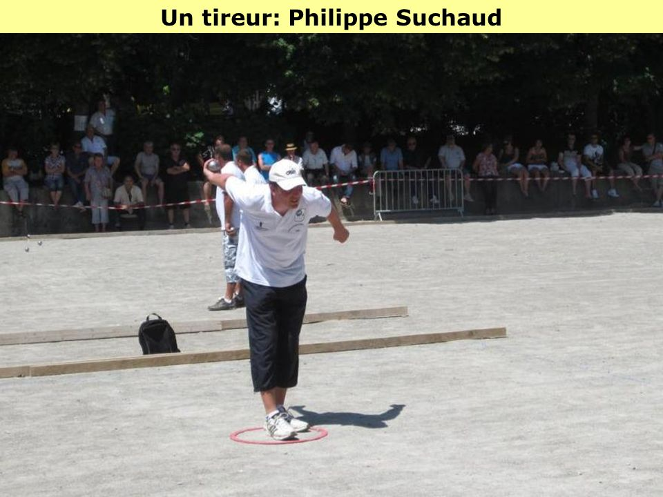 Un tireur: Philippe Suchaud