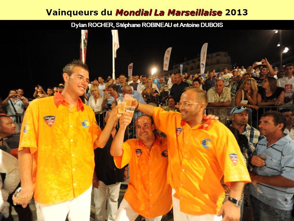 Vainqueurs du Mondial La Marseillaise 2013