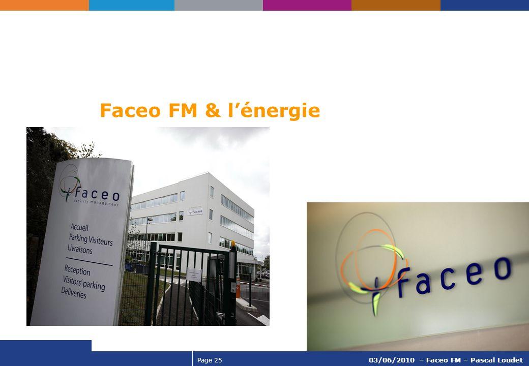 Faceo FM & l'énergie 03/06/2010 – Faceo FM – Pascal Loudet