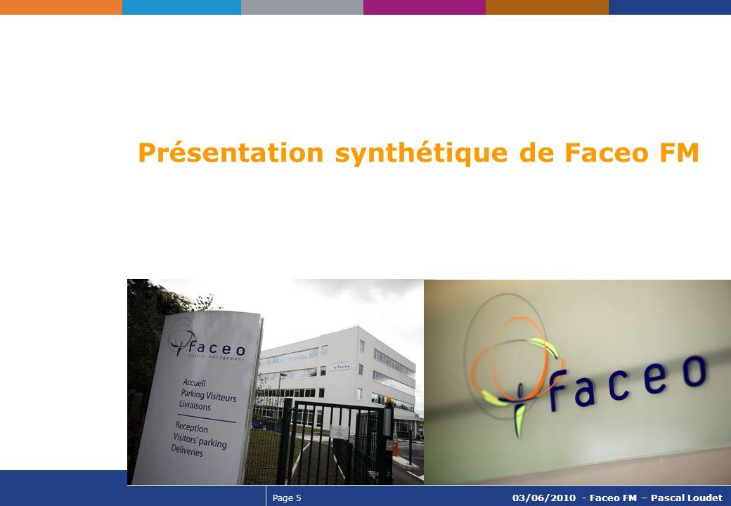 Présentation synthétique de Faceo FM