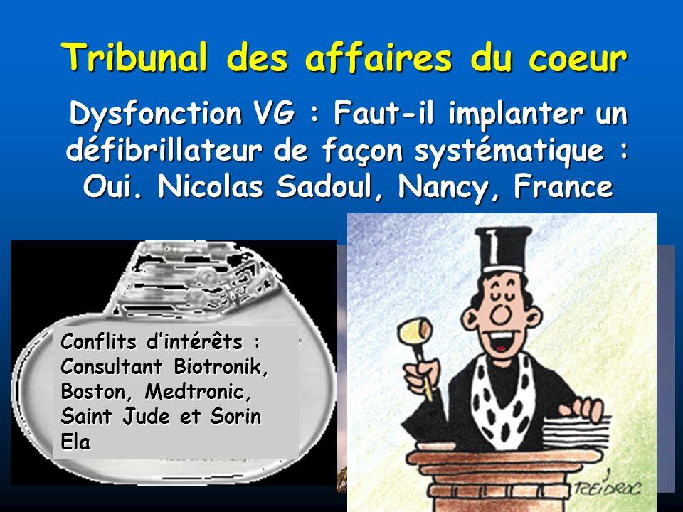 Tribunal des affaires du coeur