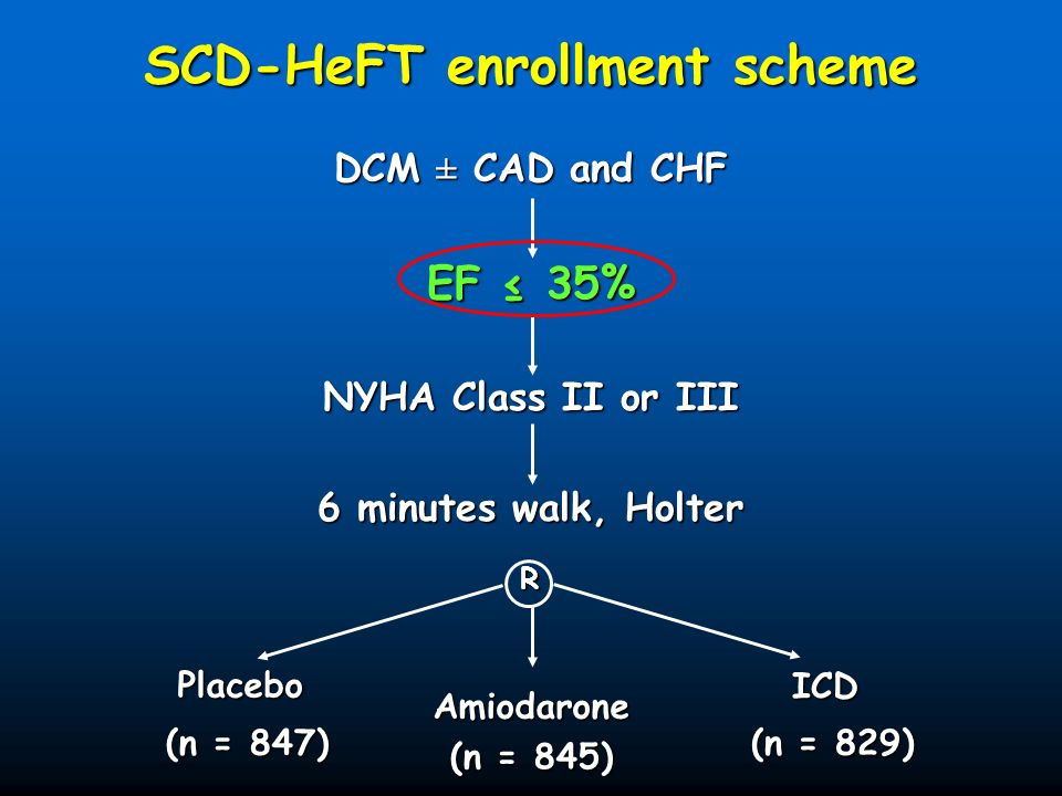 SCD-HeFT enrollment scheme