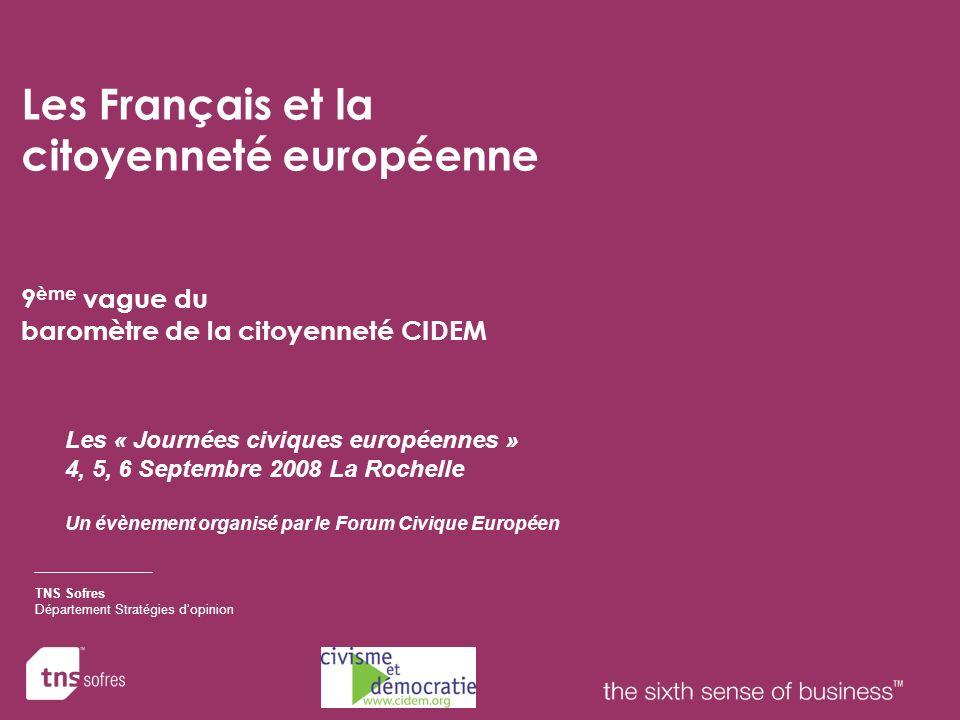 Les Français et la citoyenneté européenne