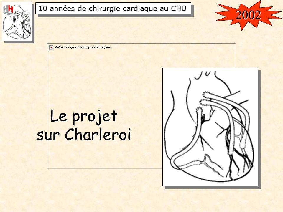 2002 Le projet sur Charleroi
