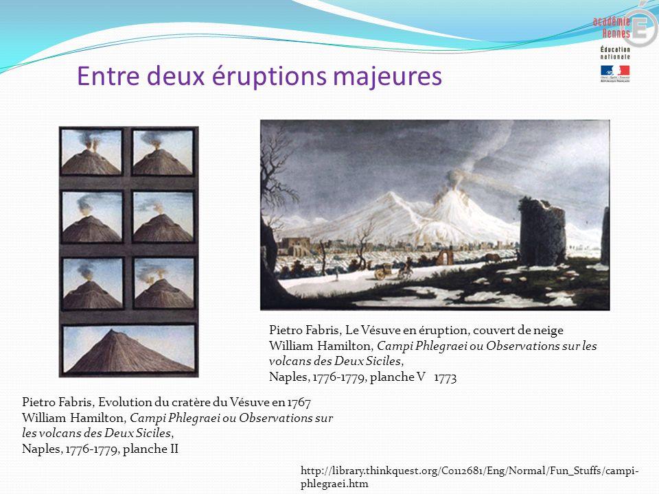 Entre deux éruptions majeures
