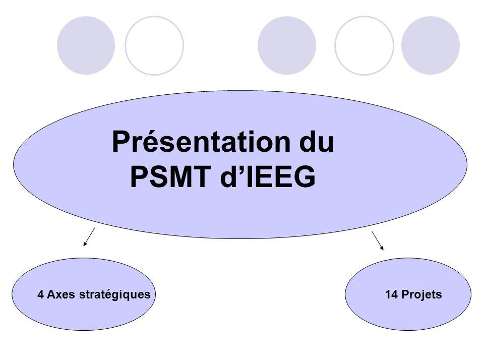 Présentation du PSMT d'IEEG