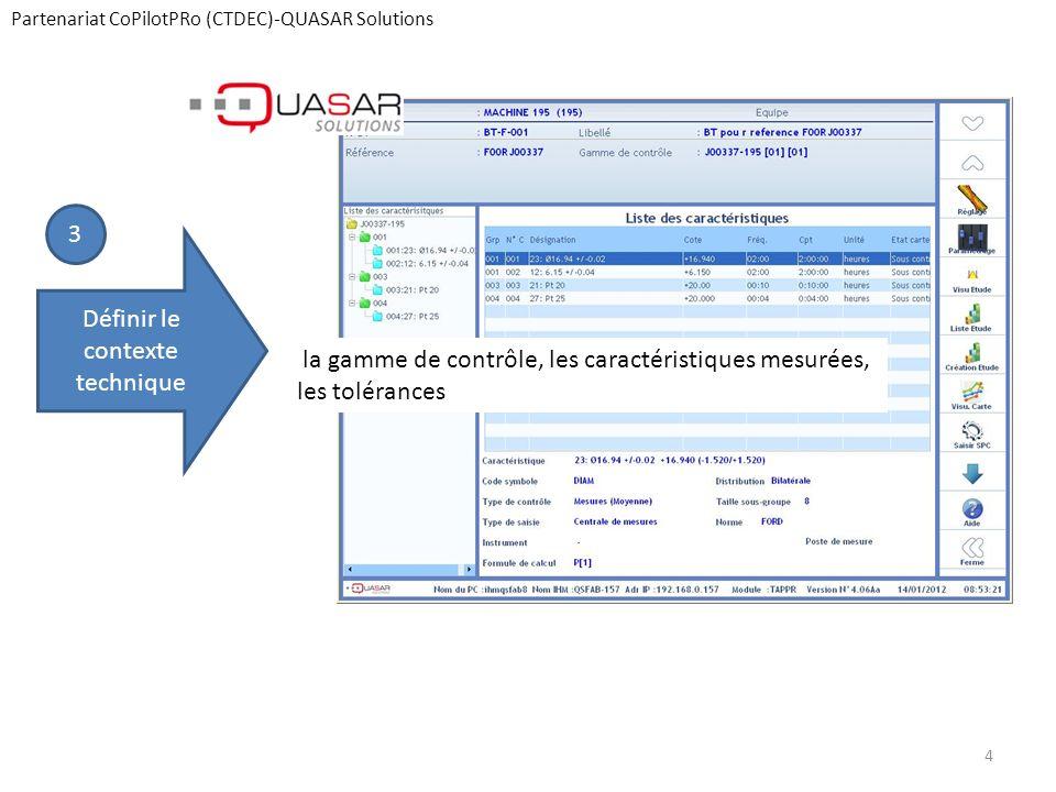 Partenariat CoPilotPRo (CTDEC)-QUASAR Solutions