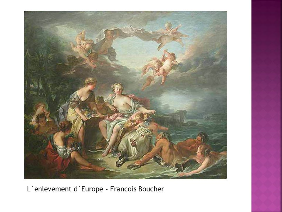 L´enlevement d´Europe – Francois Boucher