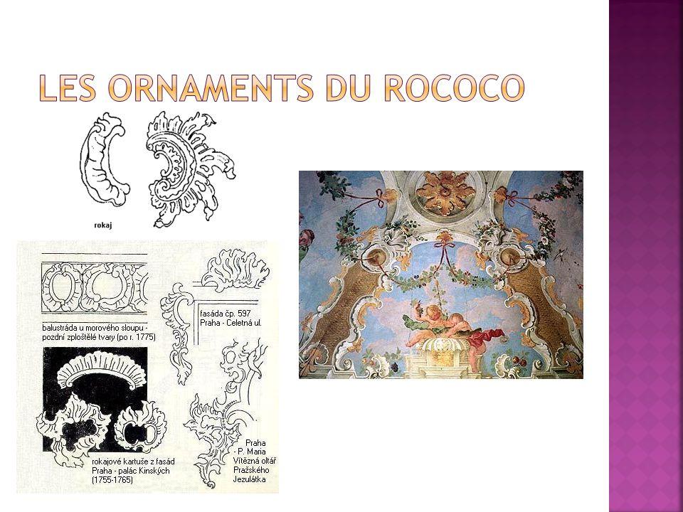 Les ornaments du rococo